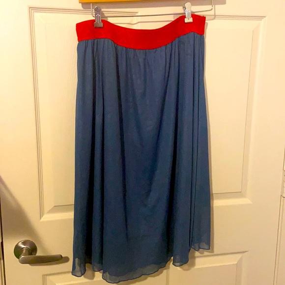 Like New Lularoe Skirt